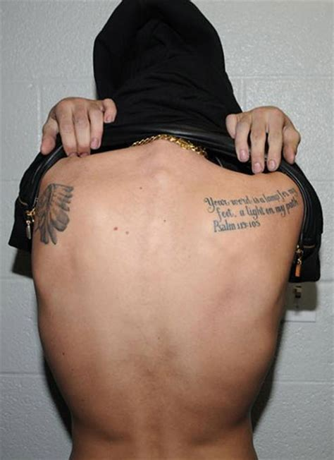 justin bieber quote tattoo justin bieber flashes every single tattoo on his body in