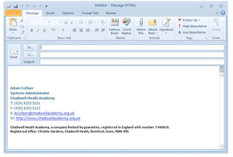 Related Keywords Suggestions For Outlook Signature Outlook Signature Template