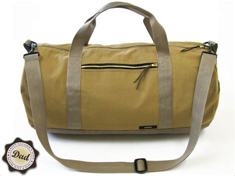 s day with fabric safari duffle bag in canvas