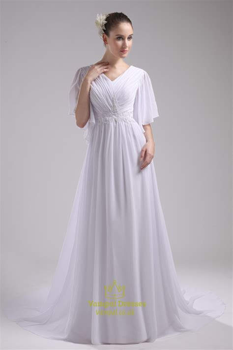 Sleeve Chiffon Dress prom dresses with chiffon sleeves floor length chiffon
