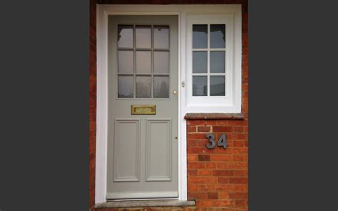 Entry Door With Side Windows Side Doors Impressive Wood Brown Panel Door