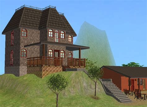 Bates Motel House by Mod The Sims The Bates Motel Lodging To Die For