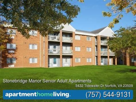 Stonebridge Apartments Columbus Ohio Stonebridge Manor Senior Apartments Norfolk Va