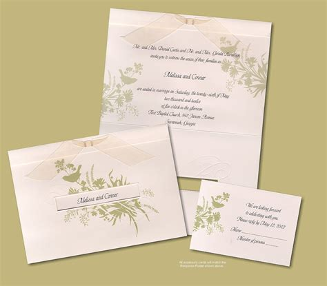 Paper Wedding Invitations