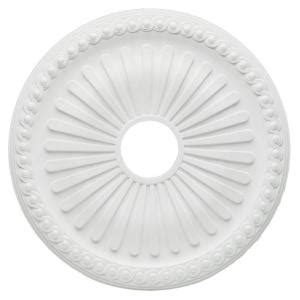 Ceiling Light Medallions Home Depot by Westinghouse Soleil 20 In White Ceiling Medallion 7775200