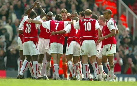 arsenal invincibles squad how unlikely were the invincibles 5 added minutes