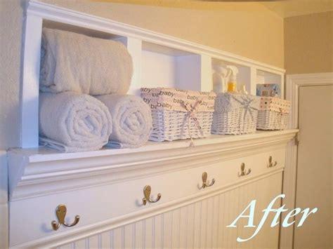 Bathroom storage idea add recessed shelves curbly