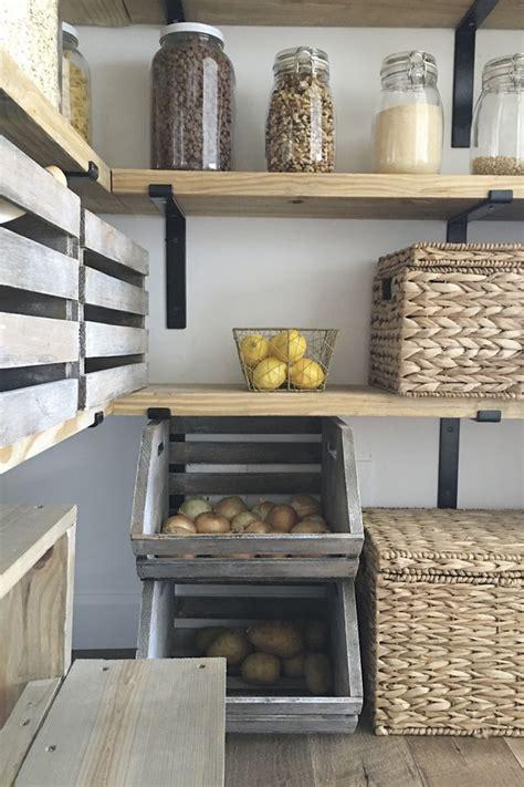 diy organized walk  modern farmhouse butlers pantry