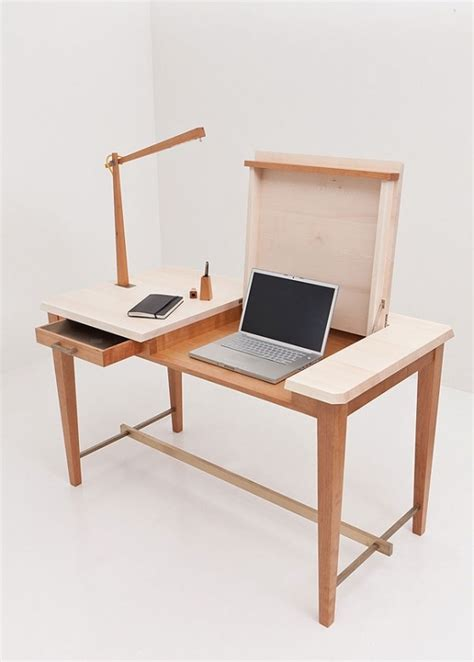 Wooden Laptop Desk Cool Laptop Desk Design Wooden Minimalist Desk Minimalist Desk Design Ideas