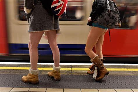 trousers   tube ride      tube