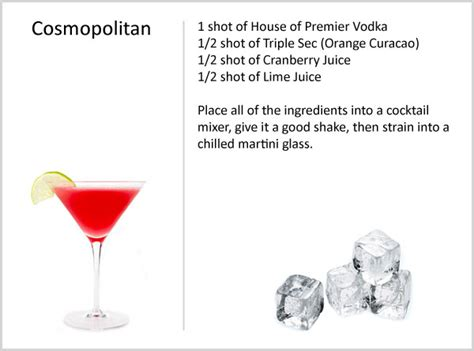 cosmopolitan recipe grey goose vodka