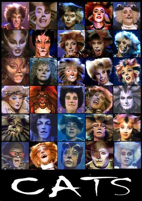 cat characters 25 best ideas about cats musical on broadway plays musicals broadway and