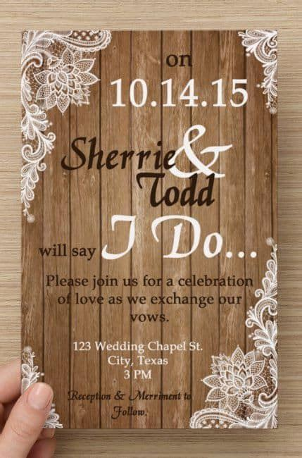 Country Themed Wedding Invitations by Country Wedding Invitations Best Photos Wedding Ideas