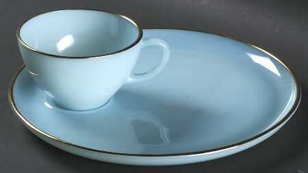 Ange Ansso Snack Cup Blue anchor hocking turquoise blue at replacements ltd