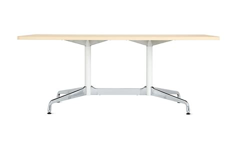 herman miller eames dining table eames table with rectangular top and segmented base