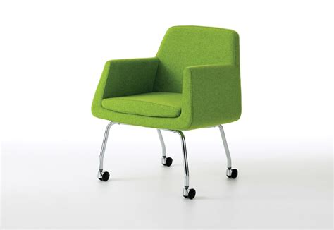 Chair On Wheels by Jefferson Easy Chair On Wheels By Skandiform Stylepark