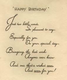 happy birthday card inside
