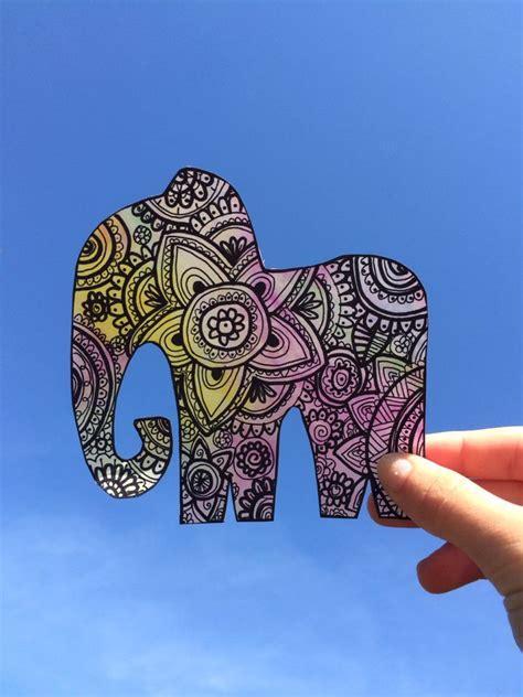 imagenes tumblr arte elefante de zentangle art zentangle art pinterest