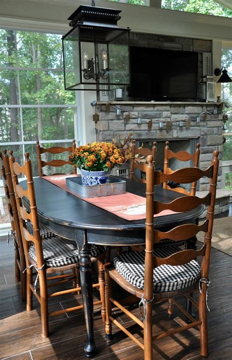 fall 2016 back porch tour the endearing home porch