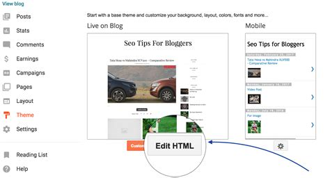 xml blogger template editor gallery templates design ideas