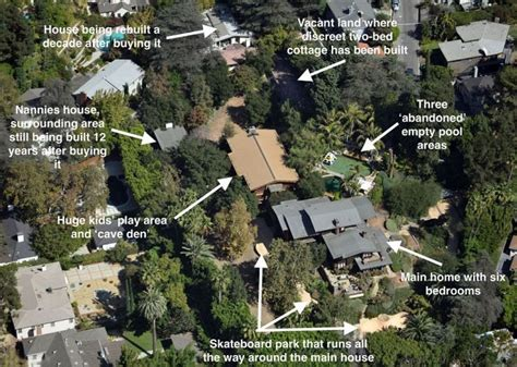 hollywood celebrity houses angelina jolie and brad pitt s take a look at brad pitt and angelina jolie s huge