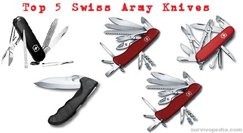 best army knife top 5 swiss army knives for survival survivopedia