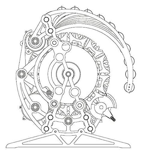 cool and exploded engine coloring book combustion engines to color books biomechanical gears clock sle 187 ideas