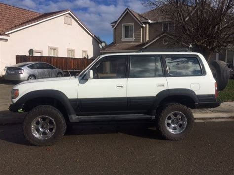 1996 land cruiser lifted jt6hj88jxt0148969 1996 lexus lx450 4x4 lifted 35 quot tires