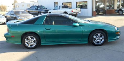 bright green camaro 1999 gm paint cross reference