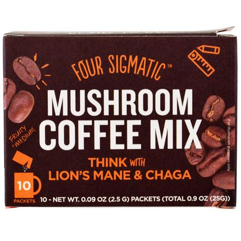 Coffee Mix four sigmatic coffee mix think with s mane