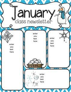 february newsletters for your class and a bonus