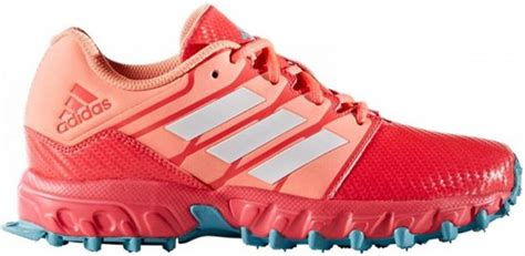 bol adidas hockey junior pink light blue maat 33 hockeyschoen meisjes