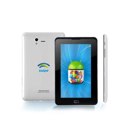 Android Jelly Bean Ram 1gb buy swipe halo speed tablet 2g calling 1gb ram android jelly bean dual silver at