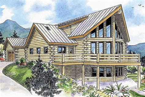 architectural home designs modern log with rustic appeal 72244da architectural designs house plans