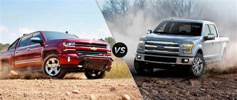 2016 Chevy Silverado vs 2016 Ford F 150