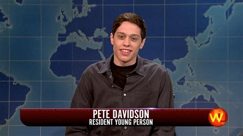 pete davidson update snl watch weekend update pete davidson on the walking dead