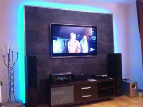 tv wand bauen led tv wand selber bauen cinewall do it yourself m 246 bel