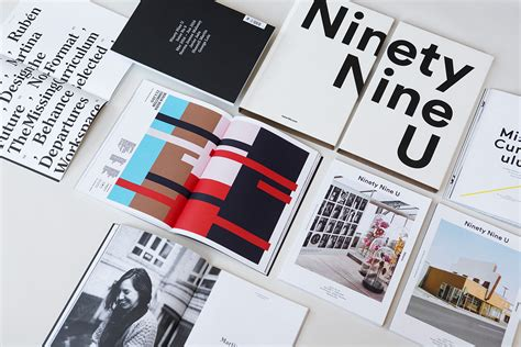 editorial design ninety nine u magazine