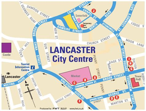 where is lancaster on a map 27th european simulation and modelling conference esm