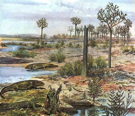 era paleozoica periodo devonico dev 243 nico de la era paleozoica