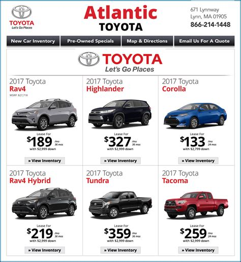 Atlantic Toyota Ma Ma Toyota Dealers Atlantic Toyota Ma Dealership