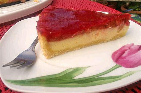 hässliche kuchen rhabarber schmand kuchen rezept mit bild meiling