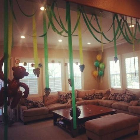 jungle themed bathroom best 25 monkey party decorations ideas on pinterest