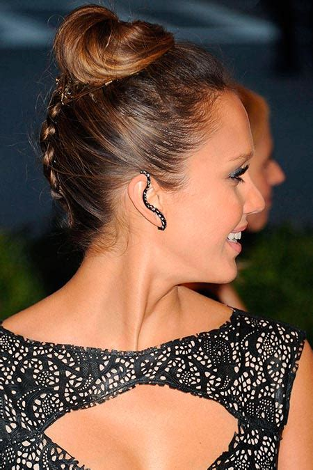 braided hairstyles jessica alba gorgeous celebrity braided hairstyles to wear on your