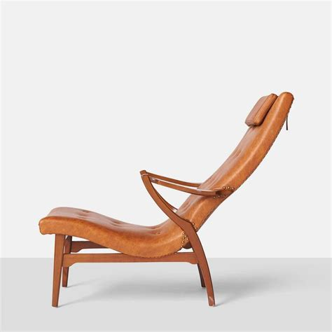 Swedish Lounge Chairs by Swedish Lounge Chair And Ottoman For Sale At 1stdibs