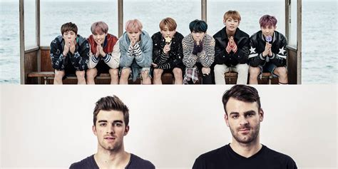 bts x chainsmokers the chainsmokers show gratitude to bts rap monster