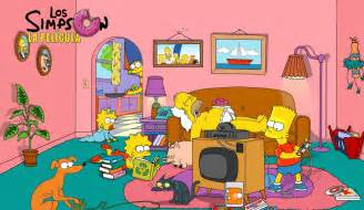 Sofa En Ingles Las Locuras De Los Simpsons Homero Simpson