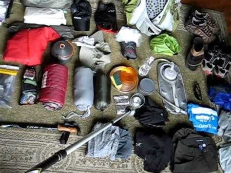 section hiker gear list appalachian trail section hike gear how to make do