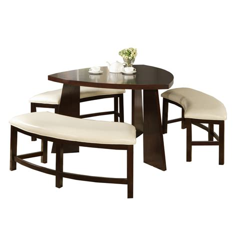 4 Set Dining Table Shop Home Sonata Oak 4 Dining Set With Oval Dining Table At Lowes