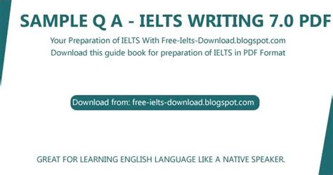 Ielts Writing Sample Question And Answer With Correction